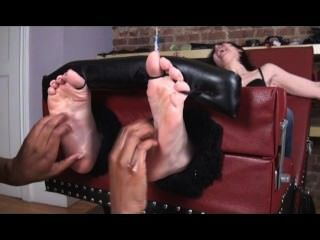 Tickle Torture With The Brush