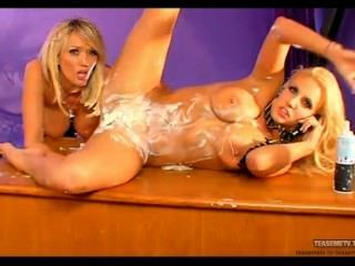 Danni Harwood And Lucy Zara Cream