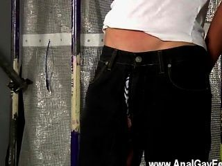 Hot Gay Sex New Boy Brodie Wanked And
