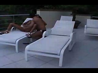 Ebony Teen Anal In Big White Dick