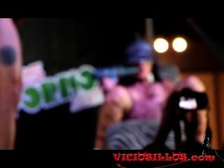Amanda X, Drillerdick & Spectator Jerking Off In Sev2013 By Viciosillos.com