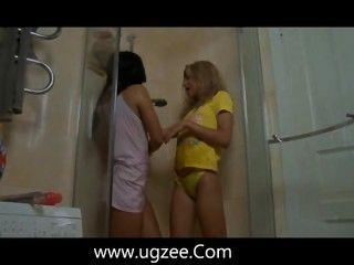 Very Hot Blonde Eats Wet Lesbian