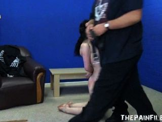 Extreme Brutal Blowjob And Whipping Of Bdsm Slut Faye Corbin In Harsh Sex