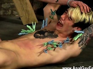 Gay Guys Pegged And Face