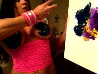 Laurie Pec Bounce Paint