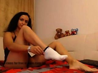 Webcam Slut - Feet Socks Nylons Foot Fetish