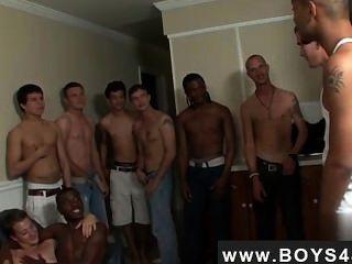 Sexy Men Wild, Wilder... Bukkake With Cody
