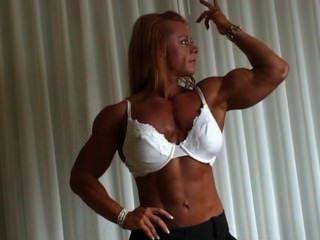 Christine Moore - Female Bodybuilder