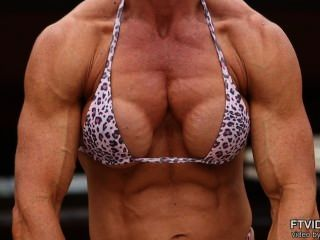 Christine Sabo Flexing