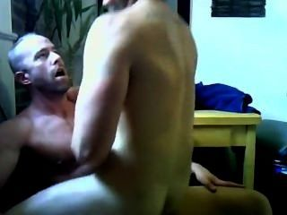 Hunk Rides Muscle Cock Bare