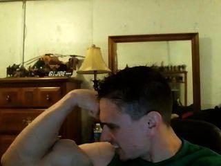 Tony D-bodybuilder Flexing Posing Showing Off His Amazing Peaked Biceps!