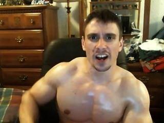 Tony D-natural Ripped And Lean Bodybuilder Tells You To Go To The Gym!
