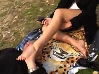 French Feet Lick Worship