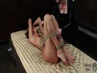 Naked Bed Dungeon Tickle Torture