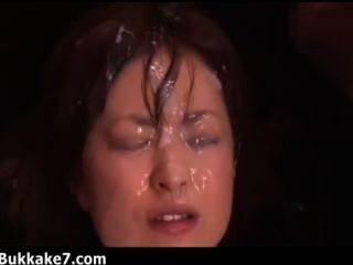 Semen Fountain Erupts On This Japanese Girl