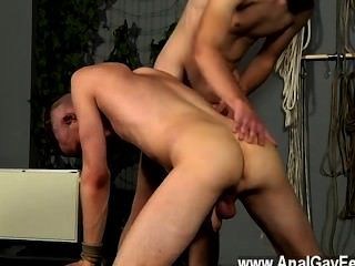 Hardcore Gay The Final Humiliation Is A Shower Of Molten Piss Over His