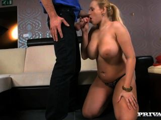 Angel Wicky - Angel Has Big Natural Tits And Uses Them To Seduce A Man For