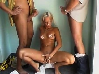Blonde Anal