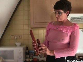 Cock-hungry Bitch Seduces Son In Law