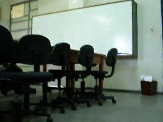 Cumming In The University In Rio De Janeiro