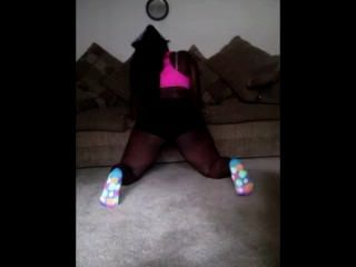 Bbw Lesbian First Time Twerking