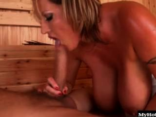 Laura Orsoia A Hot Milf Who Is Visiting A Special Spa. She Is