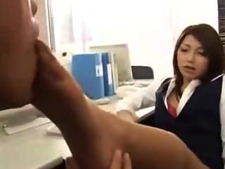 Japanese Nylon Feet Worship