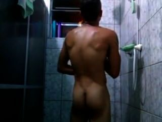 Big Dicked Shower Surprise