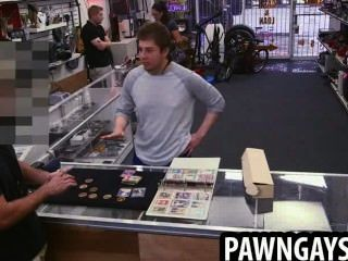 Stud Selling Some Of His Baseball Cards To The Pawn Shop