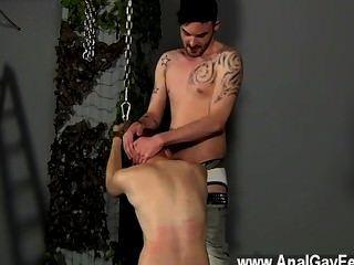 Hardcore Gay Slave Boy Fed Hard Inches