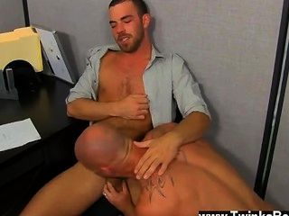 Gay Movie Of Muscle Top Mitch Vaughn Slams Parker Perry