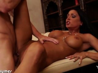 Chesty Brunette Jessica Jaymes Gets Fucked