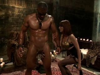 Black Muscle Get Fuck By A Girl