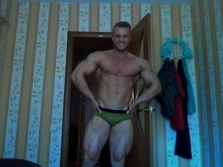 Blond Muscle Guy 2