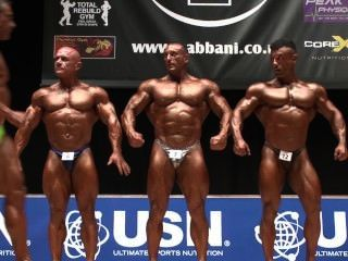 Musclebull Mark #4: Nabba Worlds 2014 - Masters Over 40 Posedown