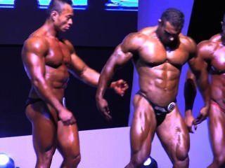 Asian Musclebulls: Hkfbf 2014 (invitational) - Pose Down (below 90kg)