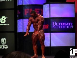 Musclebull Jose: 2014 Olympia 212 Prejudging Compulsory Routine