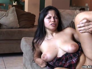 Hot Latina Knows How To Please A Man