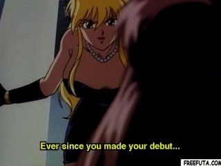 Hentai Blondie Sucks And Tittyfucks Shemales Hard Cock