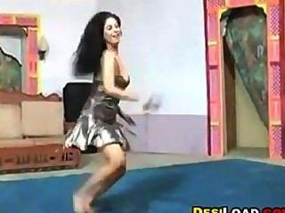 Indian Dancer Teasing Her Tits