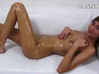 Fake Agent With A Oiled Young Teen