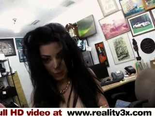 Real Spycam Sex - Fucking A Cuban Chick For Her Tv - Reality3x.com