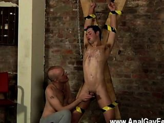 Gay Jocks Spitting Cum In A Slaves Face