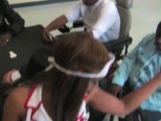 Henny Red Dance In Nursing Home For Grandpas