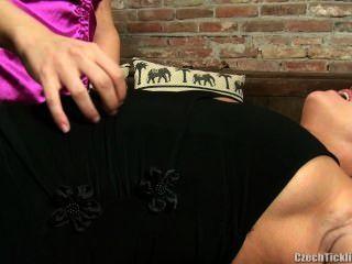 Mature Sasha Ticklish In Pantyhose