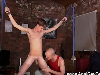 Male Models Twink Dude Jacob Daniels Is His Latest Meal, Corded Up And