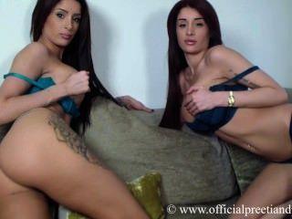 Naked girls having an orgasim