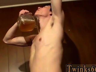 Gay Sex Cooper Fills A Jar With Piss