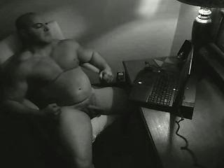 Bald Musclebull Flexbigmuscle