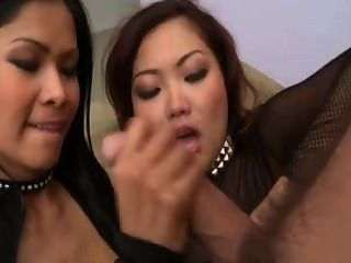 Priva And Lana Anal Threesome